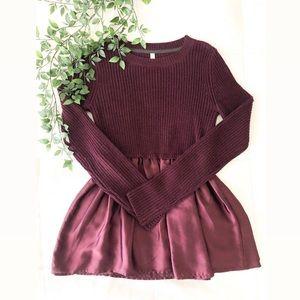 Target plum sweater